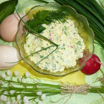 Wiosenna pasta do pieczywa