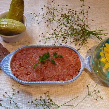 Paprykarz z brązowym ryżem i selerem