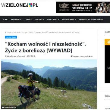 Wywiad na temat bloga – wzielonej.pl