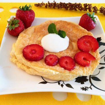 Bezglutenowy omlet z mąką z ciecierzycy