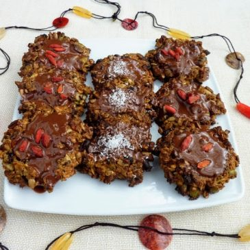 Ciasteczka wieloziarniste z czekoladą