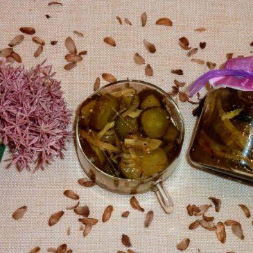 Pikantna sałatka z ogórków