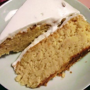 Ciasto waniliowe z białej fasoli