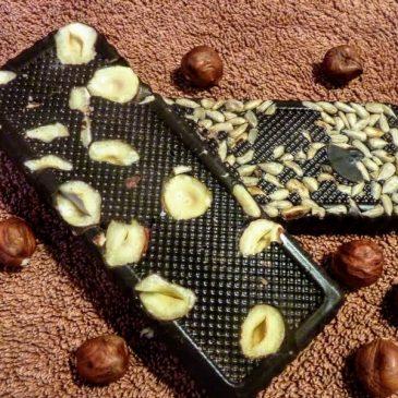 Domowa wegańska czekolada