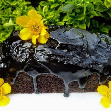 Bezglutenowa jaglano-cukiniowa babka czekoladowa