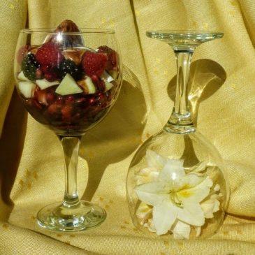 Deser z owoców niskoglikemicznych