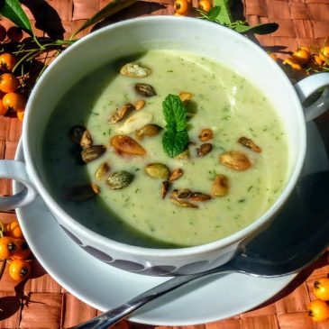 Zupa krem z kalafiora i koperku
