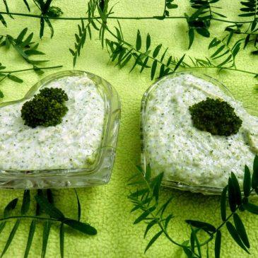 Pasta brokułowo – serowo – jajeczna z domowym jogurtem