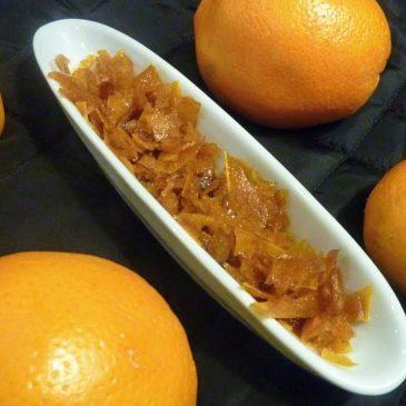 Kandyzowana skórka pomarańczowa z ksylitolem