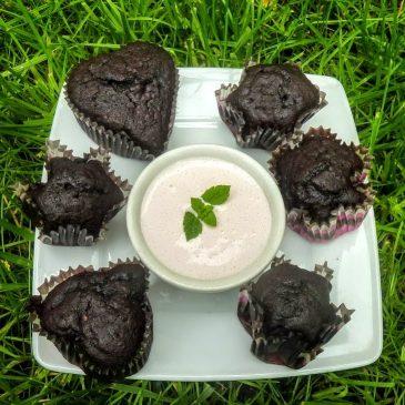 Muffinki czekoladowe z nasionami chia