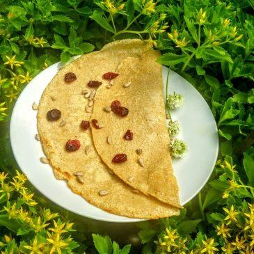 Naleśniki owsiane – bez glutenu i bez nabiału